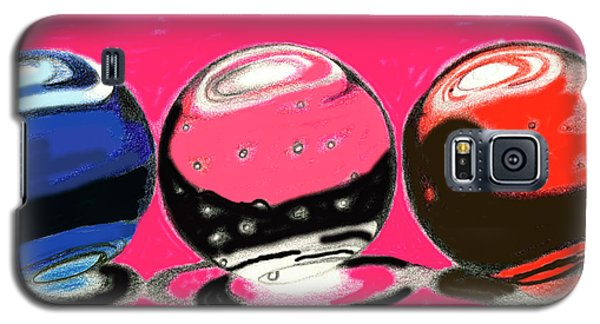 Marble Planets Galaxy S5 Case by Mary Bedy