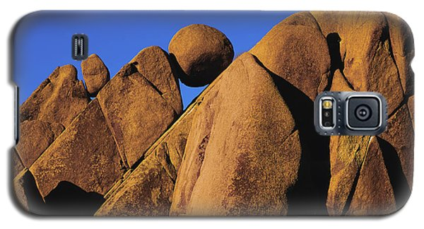 Marble Rock Formation Closeup Galaxy S5 Case