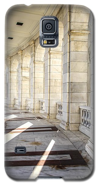 Galaxy S5 Case featuring the photograph Marble Sunlight And Silence by Ross Henton