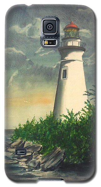 Marblehead Light On Lake Erie Galaxy S5 Case
