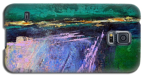 Galaxy S5 Case featuring the painting March Crossing by Jim Whalen
