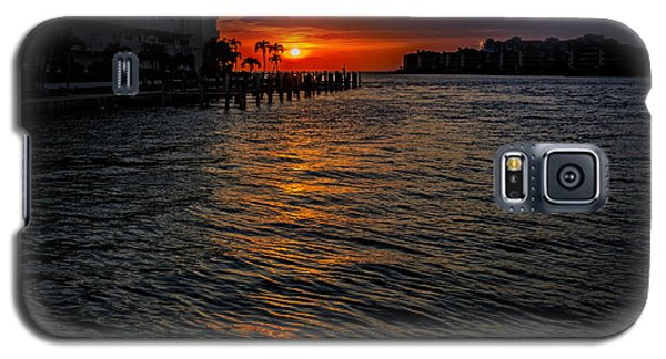 Galaxy S5 Case featuring the photograph Marco Island Sunset 43 by Mark Myhaver