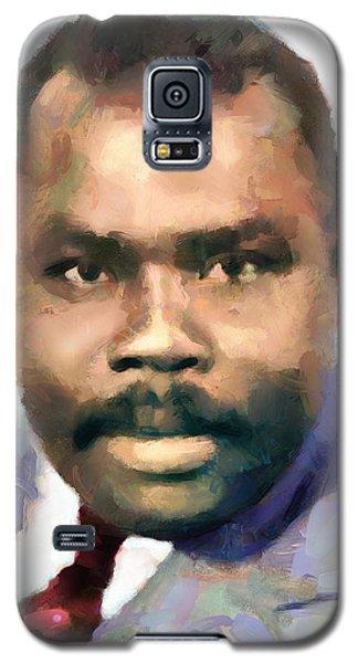 Marcus Garvey Galaxy S5 Case by Wayne Pascall