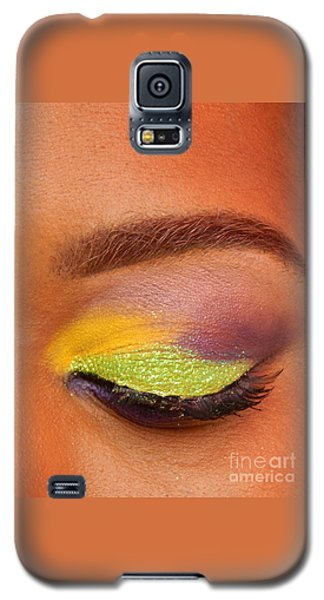 Mardi Gras 2014 Eye See Colors Of Mardi Gras Galaxy S5 Case by Michael Hoard