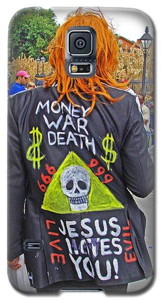 Mardi Gras Anarchist Galaxy S5 Case