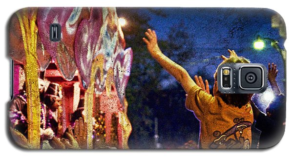 Mardi Gras At Night Galaxy S5 Case by Ray Devlin