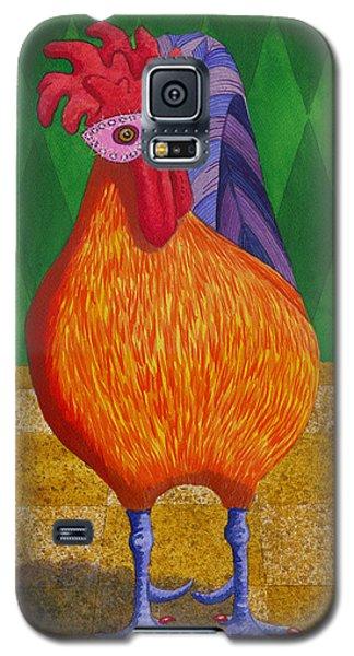 Mardi Gras Chicken Galaxy S5 Case