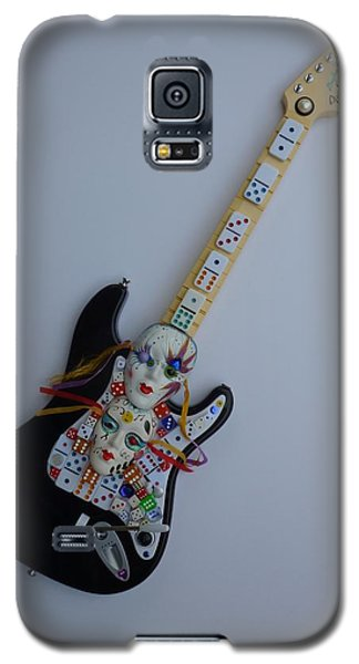 Mardi Gras Guitar Galaxy S5 Case by Douglas Fromm