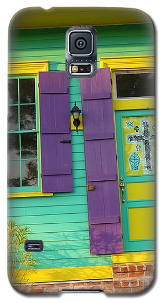 Mardi Gras House Galaxy S5 Case by Jeanne  Woods