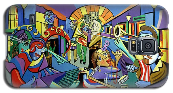 Trombone Galaxy S5 Case - Mardi Gras Lets Get The Party Started by Anthony Falbo