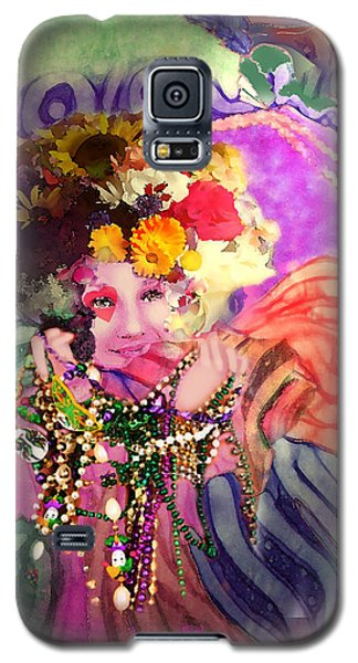 Mardi Gras Queen Galaxy S5 Case