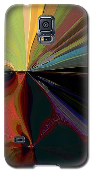 Galaxy S5 Case featuring the mixed media Mardi Gras by Terence Morrissey