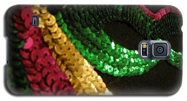 Galaxy S5 Case featuring the photograph Mardi Gras Time by Beth Vincent