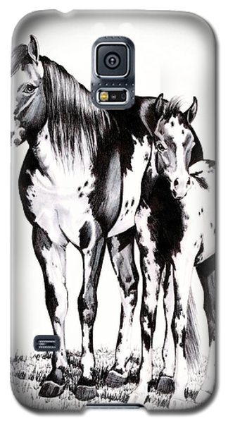 Mare And Colt Galaxy S5 Case