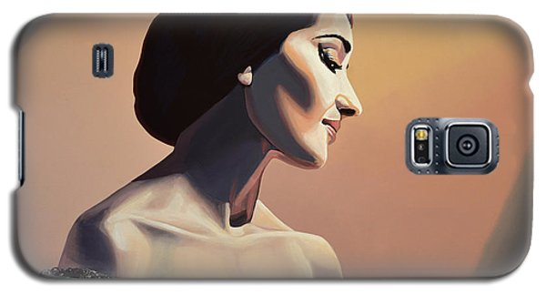 Maria Callas Painting Galaxy S5 Case