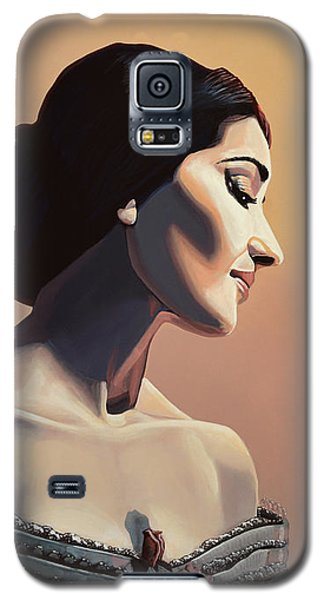 Maria Callas Painting Galaxy S5 Case
