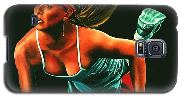 Maria Sharapova  Galaxy S5 Case by Paul Meijering