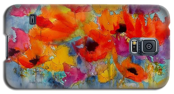 Galaxy S5 Case featuring the painting Marianne's Garden by Anne Duke