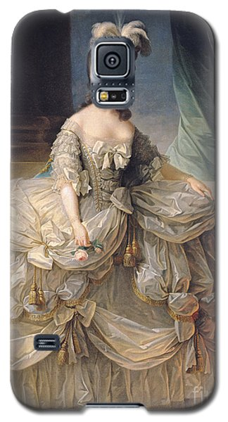 Marie Antoinette Queen Of France Galaxy S5 Case by Elisabeth Louise Vigee-Lebrun