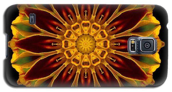 Marigold Flower Mandala Galaxy S5 Case