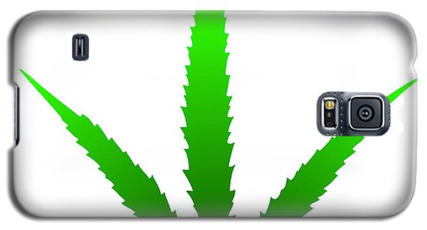 Marijuana Leaf Galaxy S5 Case