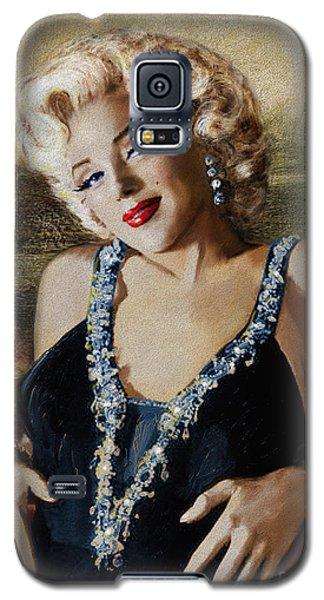 Marilyn 126 Mona Lisa Galaxy S5 Case