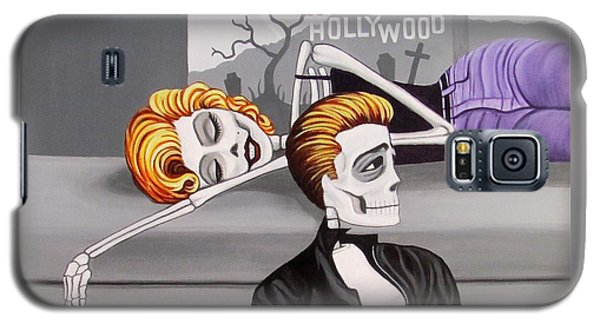 Marilyn And James Galaxy S5 Case by Evangelina Portillo