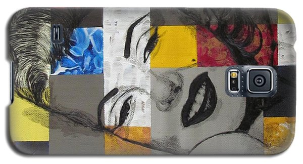 Marilyn In Abstract Galaxy S5 Case