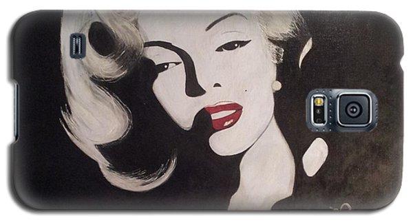 Marilyn In The Moonlight Galaxy S5 Case