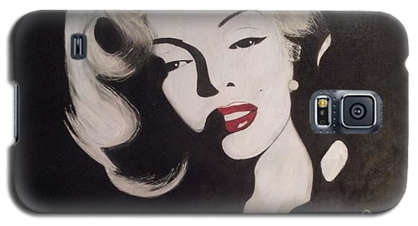 Marilyn In The Moonlight Galaxy S5 Case