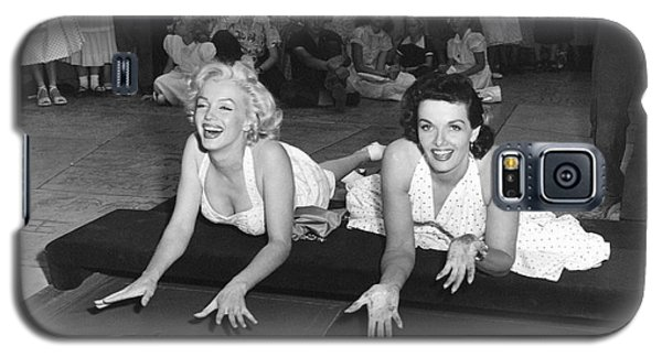 Marilyn Monroe And Jane Russell Galaxy S5 Case