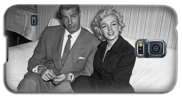 Marilyn Monroe And Joe Dimaggio Galaxy S5 Case