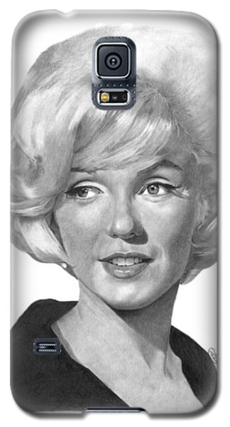 Marilyn Monroe - 015 Galaxy S5 Case by Abbey Noelle