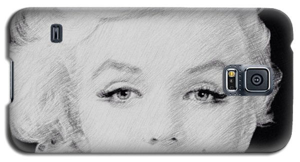 Marilyn Monroe 1 Galaxy S5 Case by Lisa Piper