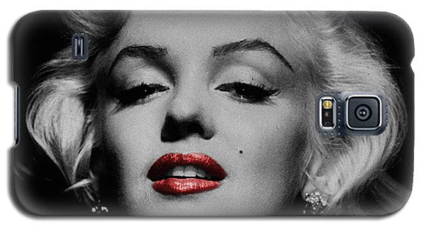 Marilyn Monroe 3 Galaxy S5 Case by Andrew Fare