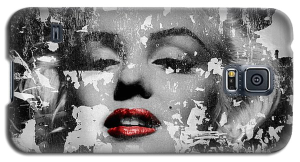 Marilyn Monroe 5 Galaxy S5 Case by Andrew Fare