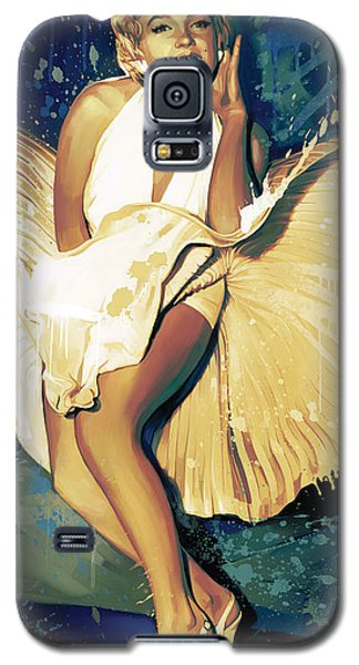 Marilyn Monroe Artwork 4 Galaxy S5 Case