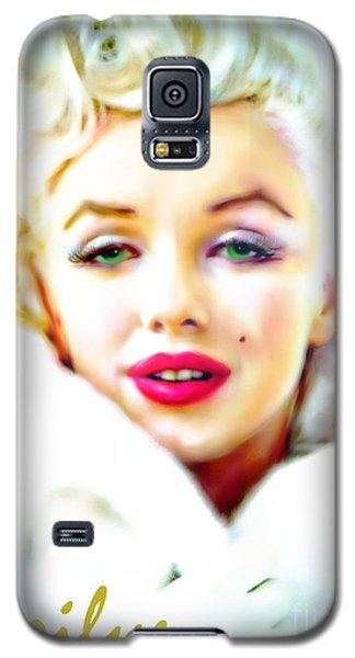 Marilyn Monroe Galaxy S5 Case by Barbara Chichester