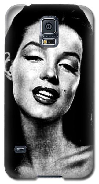 Marilyn Monroe--brunette Galaxy S5 Case