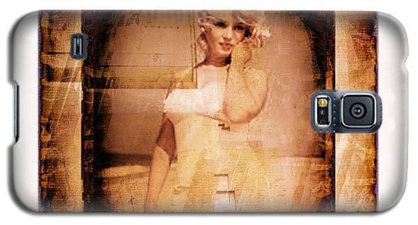 Galaxy S5 Case featuring the photograph Marilyn Monroe Film by Ericamaxine Price