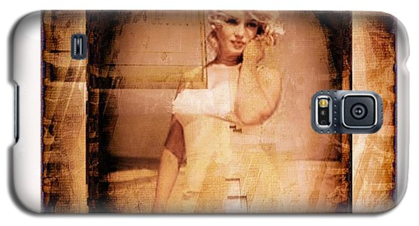 Marilyn Monroe Film Galaxy S5 Case