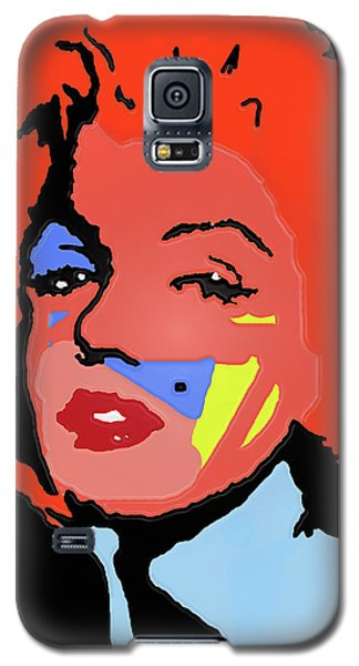 Marilyn Monroe In Color Galaxy S5 Case