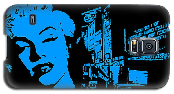 Marilyn Monroe Galaxy S5 Case by Neil Kinsey Fagan
