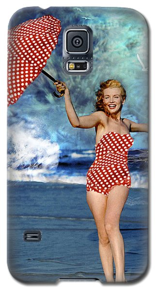 Marilyn Monroe - On The Beach Galaxy S5 Case