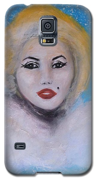 Marilyn Monroe Out Of The Blue Into The White Galaxy S5 Case