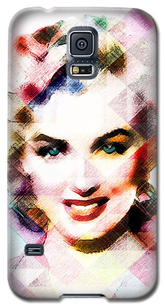 Marilyn Monroe Pastel Galaxy S5 Case