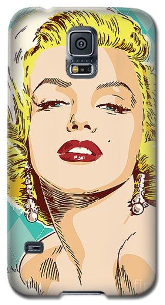 Marilyn Monroe Pop Art Galaxy S5 Case by Jim Zahniser