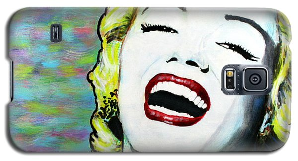 Marilyn Monroe Portrait Bright Laugh Galaxy S5 Case