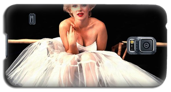 Marilyn Monroe Portrait Galaxy S5 Case