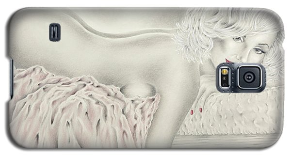 Marilyn Monroe Reclining Nude Galaxy S5 Case